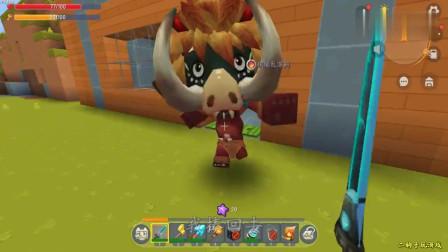 迷你世界:二狗子要建设家园,发现怪物飘在空中,怎么飞起来的呢
