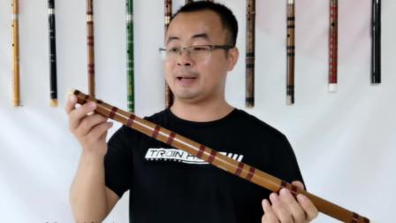 笛子教学《送别》动态简谱和技巧示范 详细讲解简单好学