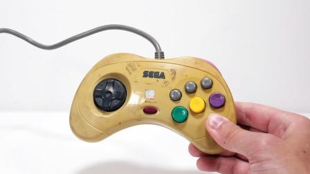 90年代废弃的游戏手柄,经小伙翻新修复后,居然还能正常玩游戏!