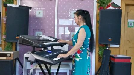 《呼伦牧歌》视频双电子琴演奏