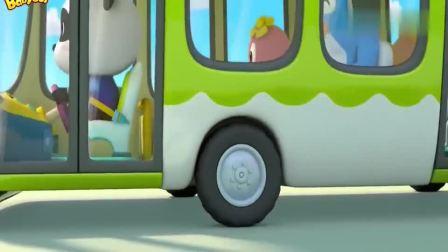 少儿宝宝巴士:巴士开不动了,乘客们都很焦急,巴士司机细心安抚大家