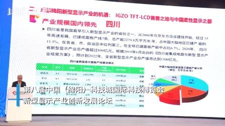 30秒 中国科学院院士欧阳钟灿: 新型显示产业规模四川国内领先