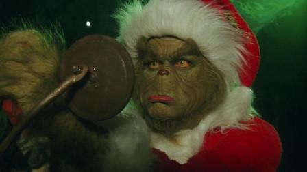 鬼灵精打扮成圣诞老人,装扮过程怎么像搞装修的