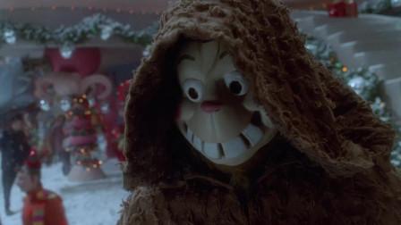 鬼灵精讨厌圣诞节,在圣诞会上到处捣乱