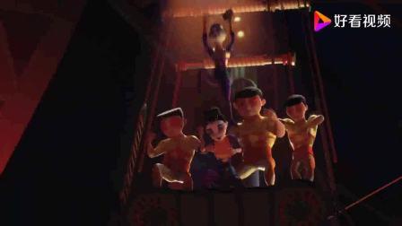 神奇马戏团之动物饼干:观众席里的狒狒,直接吓坏伍得利