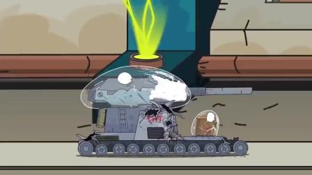 队长坦克与外星决战,坦克小弟却遭遇突袭,能量衣损坏!