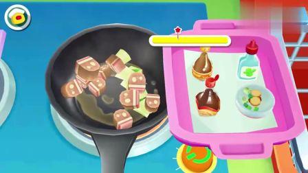 宝宝巴士:亲子游戏中华美食好吃又简单的东北名菜猪肉炖粉条