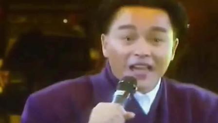 张国荣一首《侧面》,  不管男女都为他疯狂的巨星!