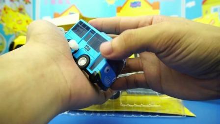 卡通玩具游戏儿童汽车玩具 泰路小巴