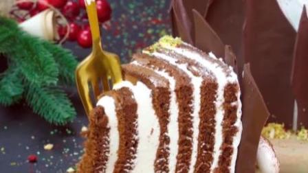 西点蛋糕学校老师告诉你如何做巧克力蛋糕卷