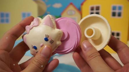 北美玩具:迷你可爱的蛋糕甜点冰淇淋过家家
