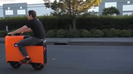 外国黑科技电动车,看起来长的像个盒子,却能达到50码的速度