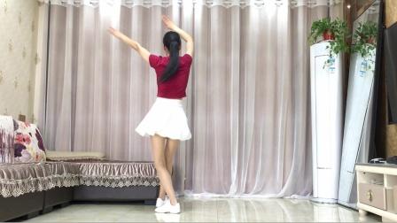 精选广场舞《女人没有错 》背面演示附分解