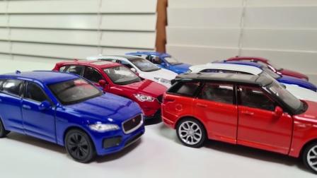 儿童汽车玩具:多款红色白色蓝色的小汽车合金早教玩具