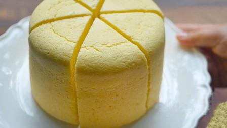 特别适合老人和孩子吃的蒸米蛋糕,制作简单,松软绵密,香甜可口