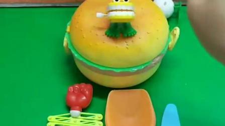 益智亲子宝宝幼教:一个超级有料的大汉堡