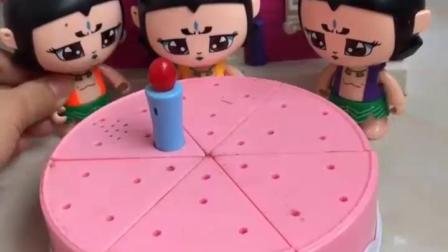 益智亲子宝宝幼教:亲手为妈妈做水果蛋糕