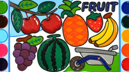 儿童动画雪花彩泥粘土DIY手工制作玩具视频教程大全 水果