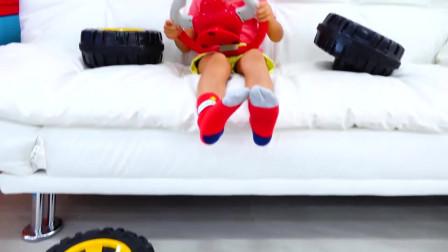超级精彩的萌娃家庭日常短视频216 集, 儿童故事玩具