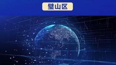 """携手 #2020线上智博会:区县""""一把手""""访谈(11)  #璧山区 #重庆dou知道"""