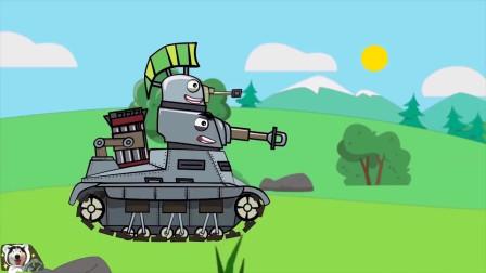 坦克世界动画:来自德系仓库的封存坦克!求救信号发出了吗?