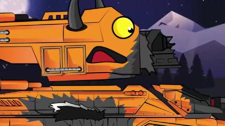 坦克大战:两个坦克在晚上打起来了
