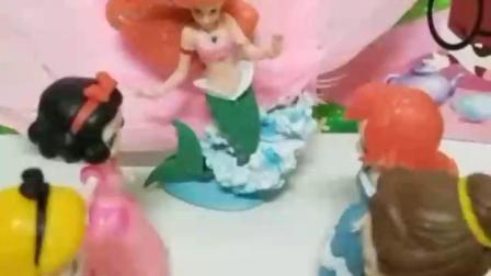益智亲子宝宝幼教:会飞会游泳的美人鱼公主