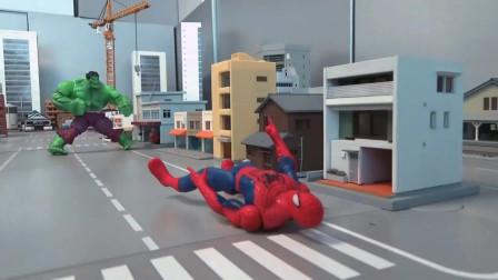 蜘蛛侠:蜘蛛侠和怪兽之战!