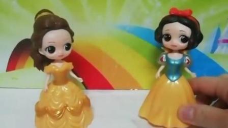 益智亲子宝宝幼教:你们支持哪位公主的磁力片作品