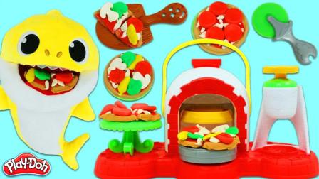 儿童动画雪花彩泥粘土DIY手工制作玩具视频教程大全 鲨鱼