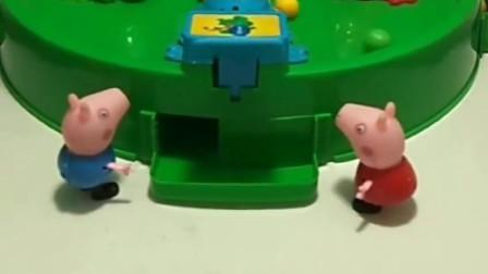 为了让佩奇和乔治,过上更好的生活,猪爸爸和猪妈妈每天都要去工作!