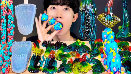 创意百变的果汁软糖,全是海洋动物的造型,可爱的造型舍不得下口