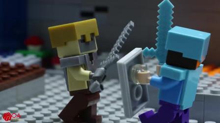 我的世界动画-乐高史蒂夫的大冒险-LEGO Land