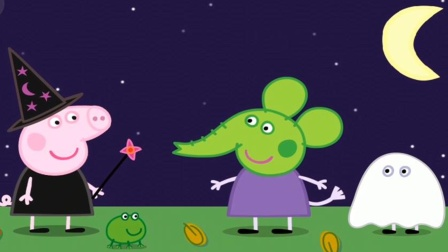 佩奇和乔治大象艾米丽过万圣节结果?