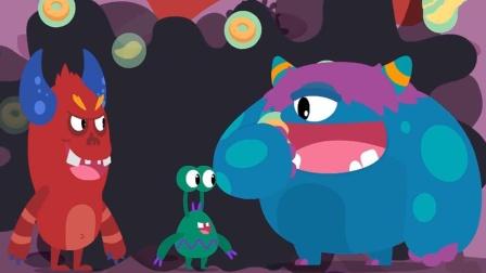 细菌进入蝙蝠的身上,奇奇变身!宝宝巴士游戏