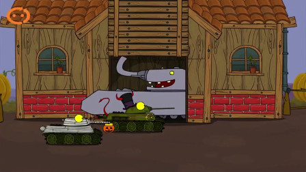 坦克吃鸡大作战—老乡开开门收糖果啦。