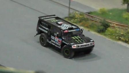 RC遥控1比87迷你悍马越野车MAN卡车