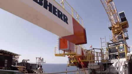 1万小时安装420吨海上起重机,全程小心翼翼,严谨世界第一!