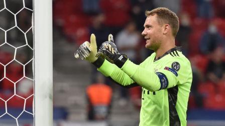 德甲联赛 20/21赛季 第2轮 霍芬海姆VS拜仁慕尼黑 官方:诺伊尔当选欧超杯最佳球员 世一门!欧冠决赛后再成MVP