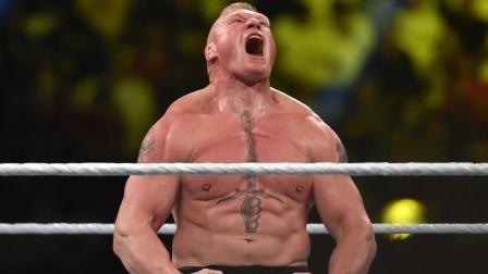 猛兽布洛克劲爆KO对手集锦,破连胜夺双冠,摔角界无人能敌!