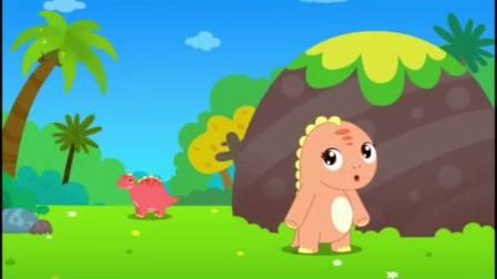 贝乐虎动画:儿歌 恐龙宝宝不见了,慈母龙好着急