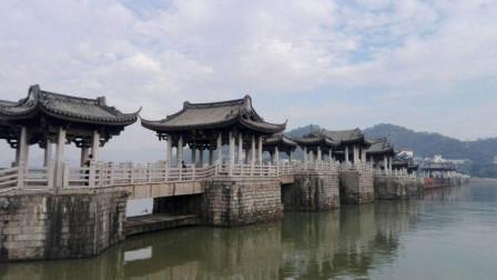 广东这座千年古桥,能拆能合犹如机器,与赵州桥齐名却无人问津!