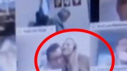阿根廷议员线上开会时公然亲吻女友胸部,视频疯传后被停职