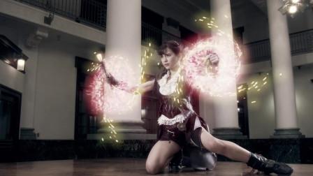 《牙狼:神之牙》魔法中的战斗女神,这位女主角漂亮至极,简直人间尤物!