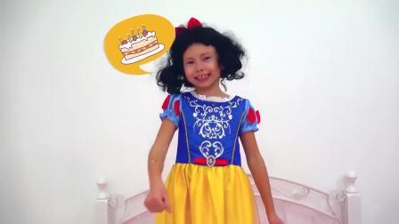 国外少儿时尚,小姑娘化身白雪公主的故事,一起去看看吧
