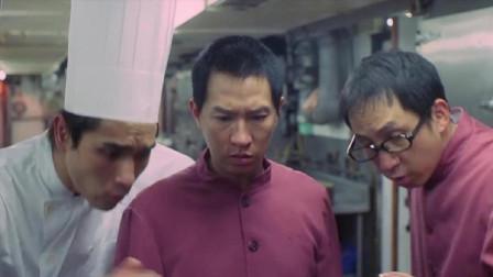 《赌侠之人定胜天》:赌王在台上切磋牌技,没想到厨师比他还厉害