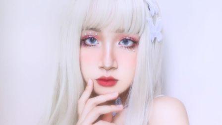 仙气蝴蝶 妆 | 充满小心机的温柔气质型妆容竟然是这样画的?