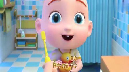 益智剧场:小宝宝来刷牙,养成卫生好习惯