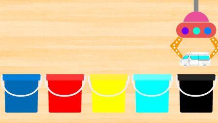 少儿早教益智:涂色 给它们涂上正确的颜色
