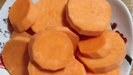 秘红薯加母鸡蛋简单做蜂蜜小面包,比烤箱烤的还好吃